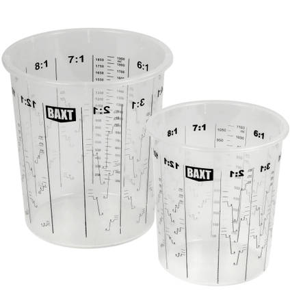 Calibrated Mixing Cup - Product Range